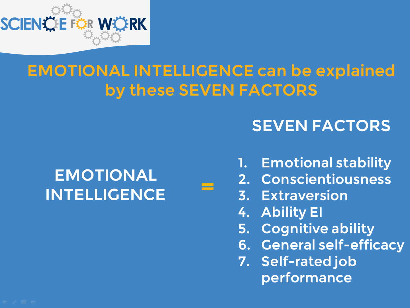 emotional intelligence can predict performance