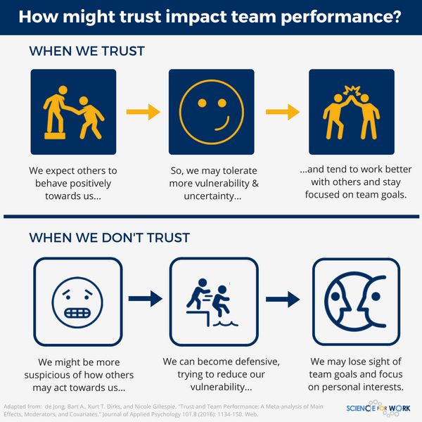 Trust: does it impact team performance    or not? • ScienceForWork